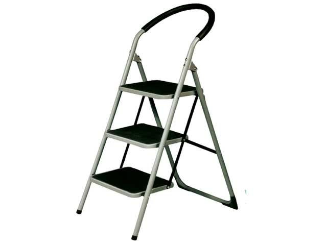 Escalera banqueta acolchada 3 pelda os - Escaleras de peldanos ...